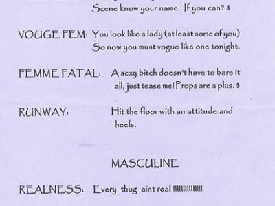 femininemasculine