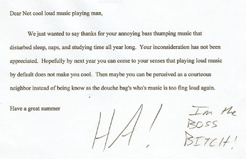 funny complaint letters