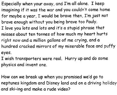 Best love letter to girlfriend after breakup