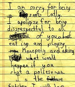 regretfulchildsapology