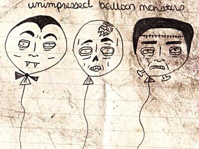 unimpressedballoonmonsters